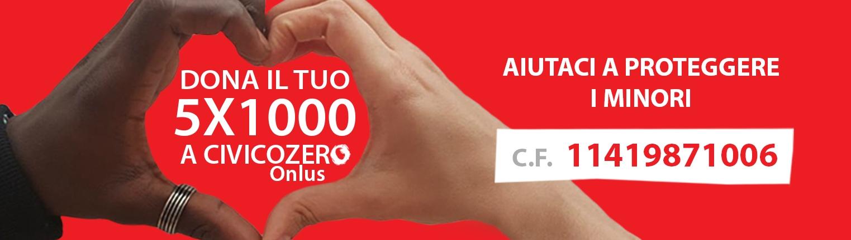 Dona il 5x1000 a CivicoZero