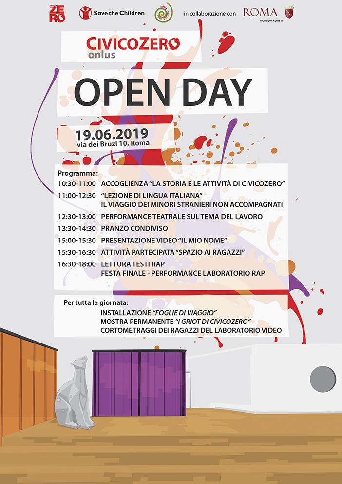 Open Day CivicoZero - Programma