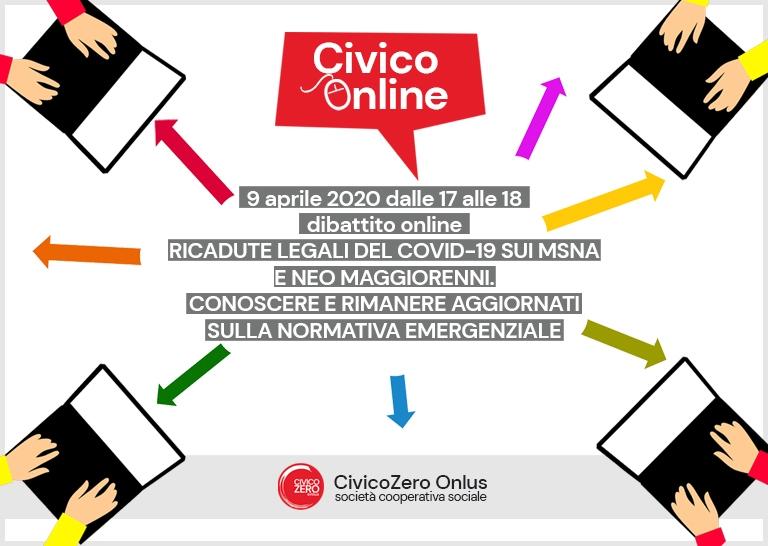 CivicOnLine_Dibattito_covid-19_civicozero